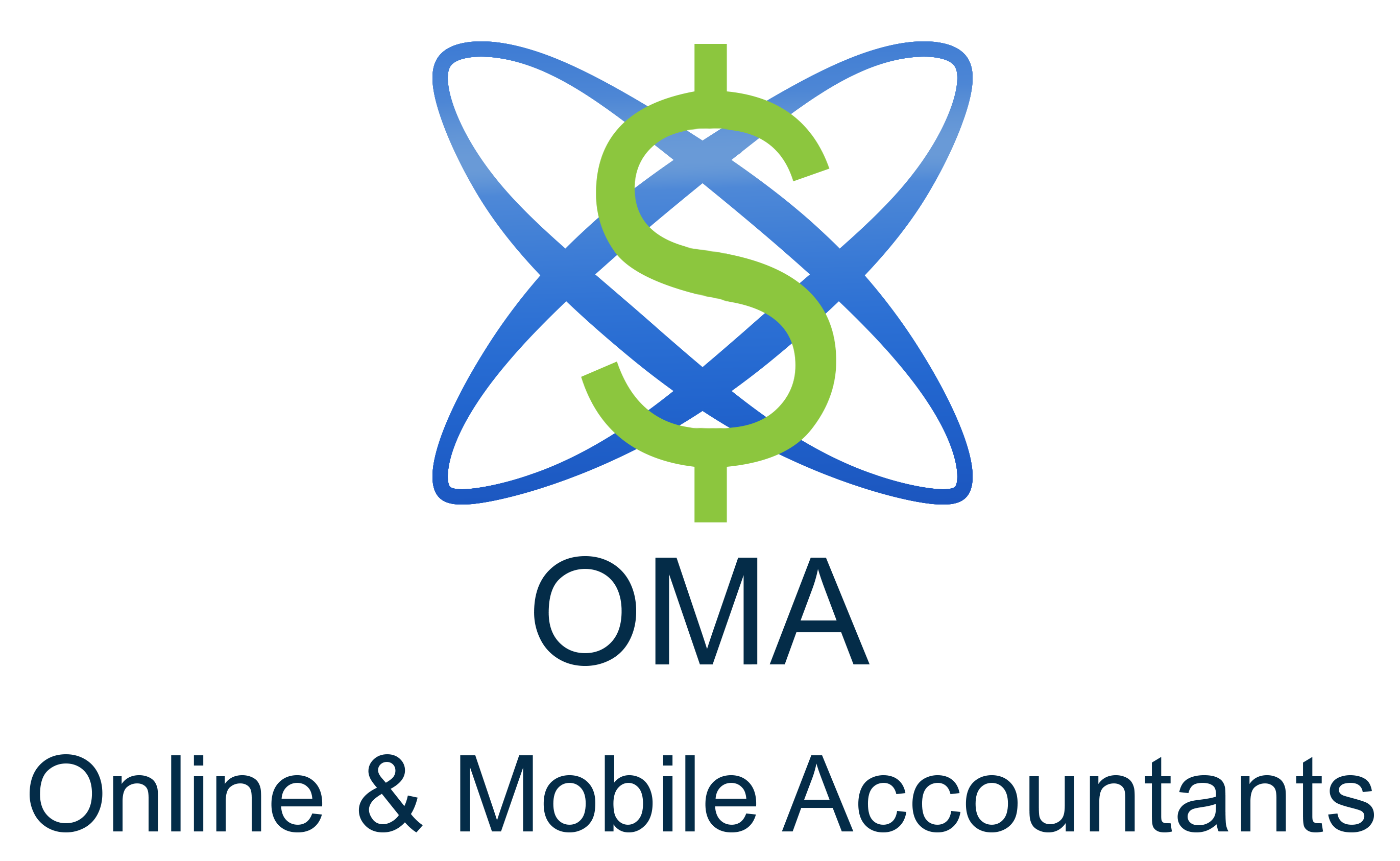 Online & Mobile Accountants Logo
